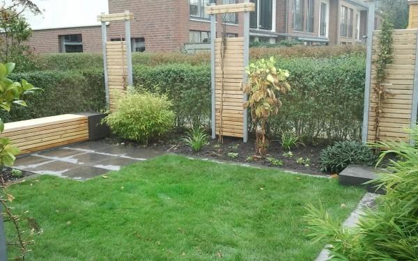 Endreihenhausgarten 1