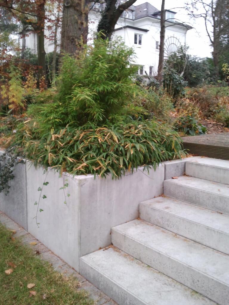 Moderner Garten mit Höhenunterschieden 2 vollbild