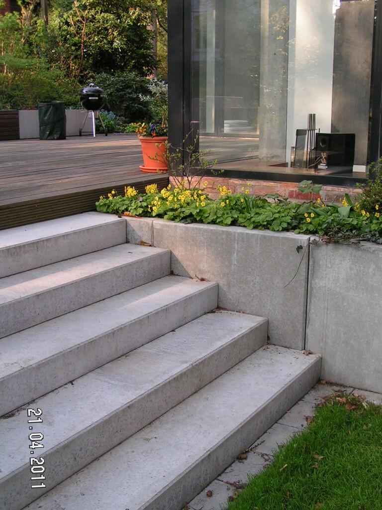 Moderner Garten mit Höhenunterschieden 3 vollbild
