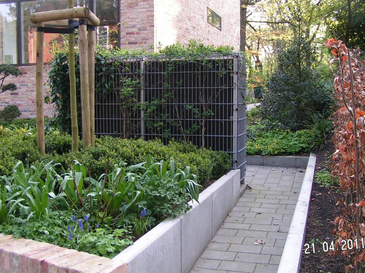 Moderner Garten mit Höhenunterschieden 5 vollbild