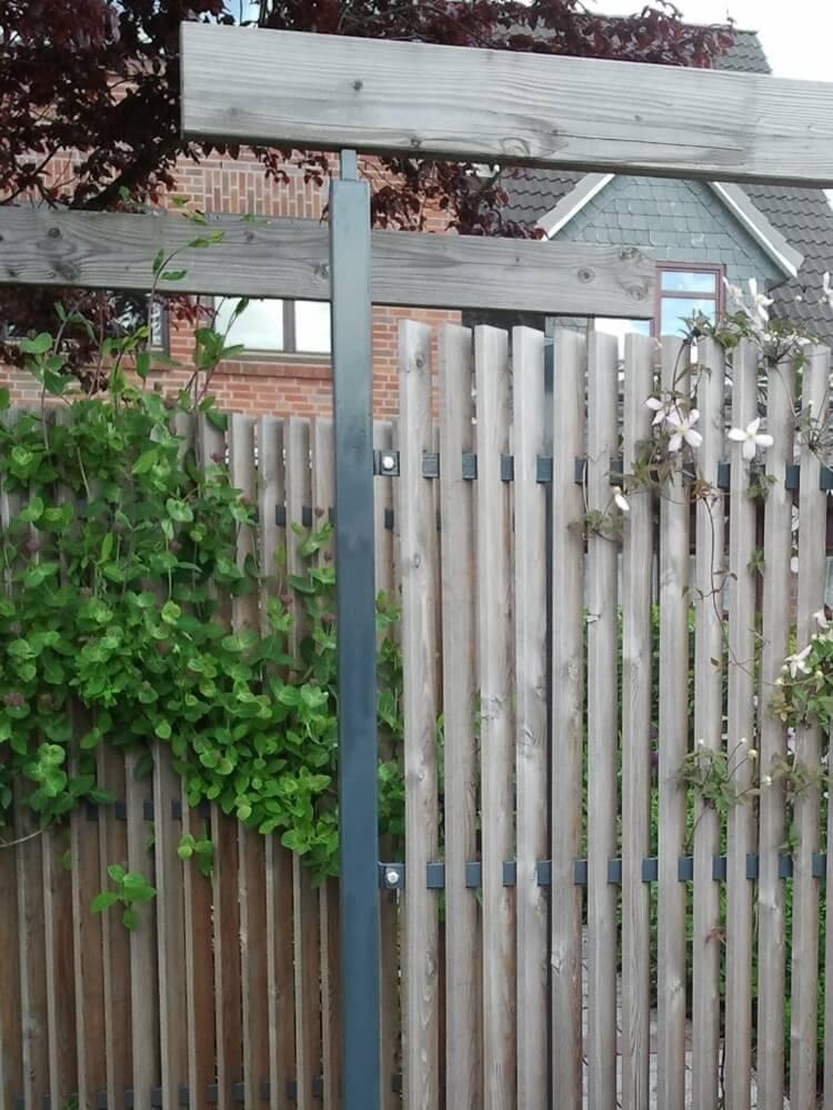 Sichtschutz im Reihenhausgarten 4 vollbild