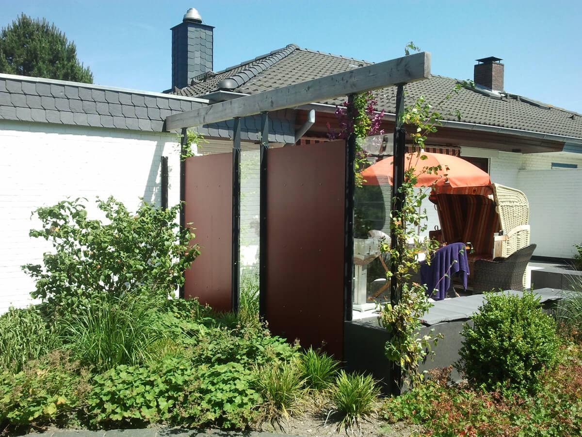 Windschutz und Terrasse 2 vollbild